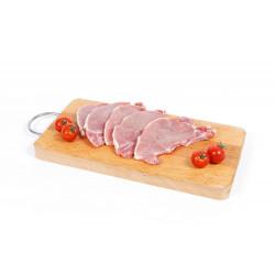 Escalopes de porc frais 1000g