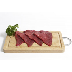 Steak en tranche 500g
