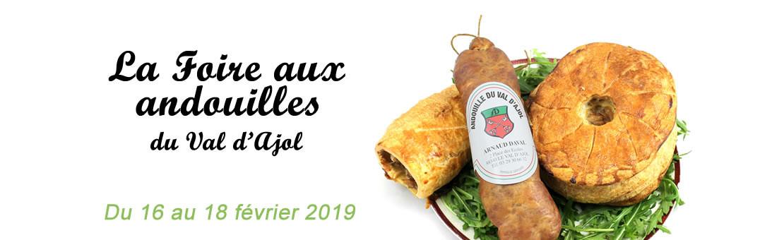 Foire aux Andouilles 2018 - du 16 au 18 février 2019